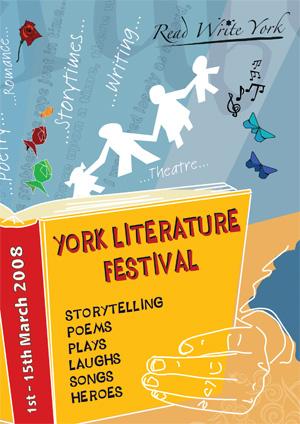 York Literature Festival brochurecover