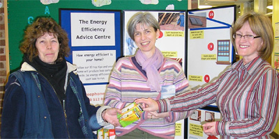 Denise Hall from the Energy Efficiency Advice Service