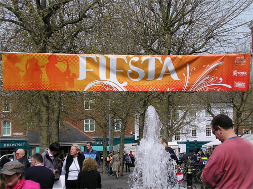York Fiesta, 3 May 2008