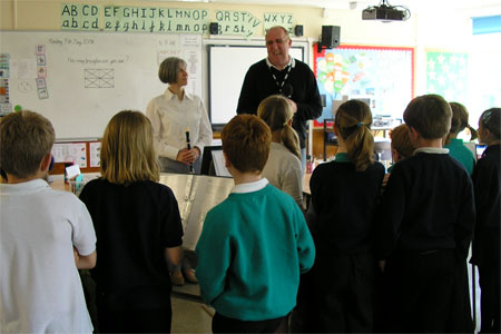 Dougie Weake at Archbishop of York\'s Junior School