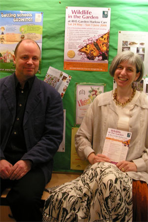 With John Rayson at RHS Harlow Carr, May 2008