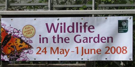 RHS Wildlife in the Garden