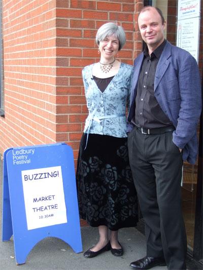 Buzzing! at the Ledbury Poetry Festival