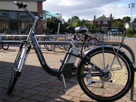 Bizzy Lizzy - theBigBuzz bike
