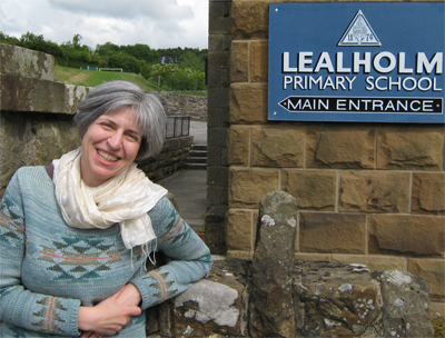 Anneliese at Lealholm Primary School, North Yorkshire