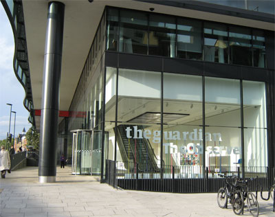 Kings Place, London, creative centre and home of the Guardian and Observer