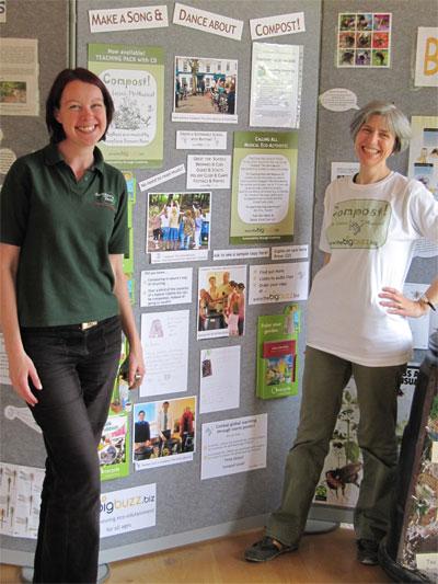 My Compost! display at Kew at Castle Howard