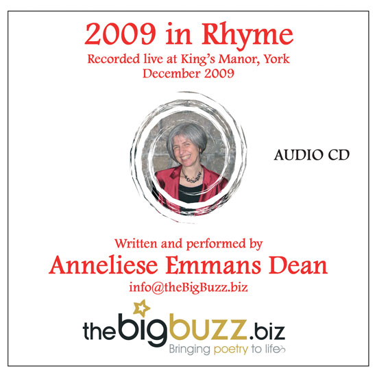 2009 in Rhyme CD by Anneliese Emmans Dean