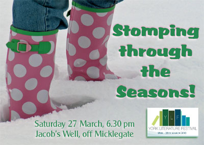 Stomping through the Seasons flyer