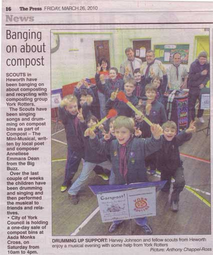 Composting Cubs - The Press - 26 March 2010