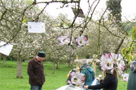 The Colwall Orchard poetry blossom tree