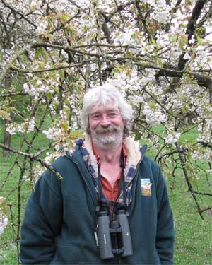 Tim Dixon, co-organiser of the Colwall Orchard Picnic
