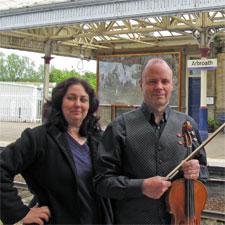 John Rayson and Catherine Lloyd of Tayside Biodiversity Partnership