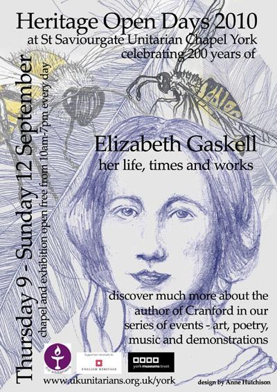Elizabeth Gaskell bicentenary celebrations in York