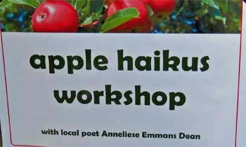 This way for my apple haiku workshops!