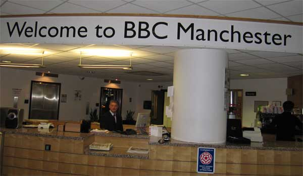 The BBC's Manchester studios, where I went for my Woman's Hour appearance