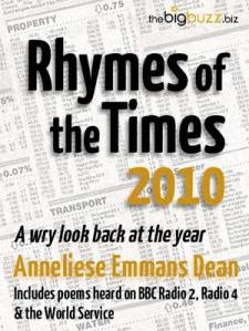Rhymes of the Times 2010 - Cover