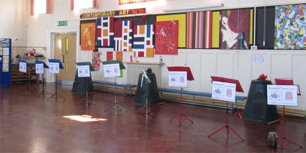 All set for a Compost! The (mini-)Musical performance at Knavesmire Primary School