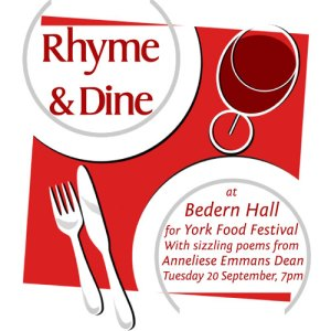 Rhyme and Dine at Bedern Hall on Tuesday 20 September