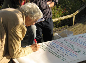 Adding to the World's Longest Apple Poem, St Nick's Apple Day 2011