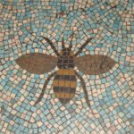 Bee mosaic at Battersea Arts Centre