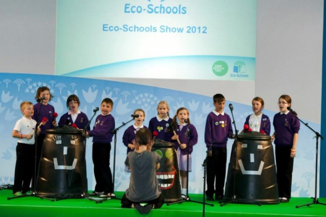 Compost! The (mini-) the Musical, performed at the National Eco-Schools Show 2012 by Archbishop of York Junior School pupils, June 2012