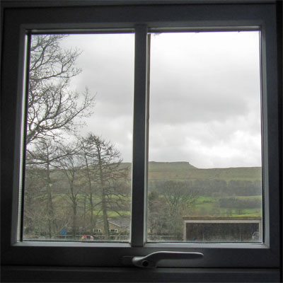 The view from Askrigg Primary School staffroom
