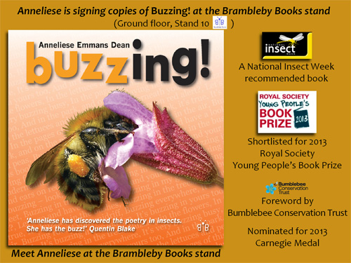Buzzing! Book Signing at the Insect Festival