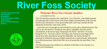 River Foss Society website 2