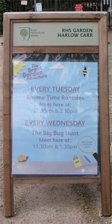 Rhyme Time Rambles at RHS Harlow Carr