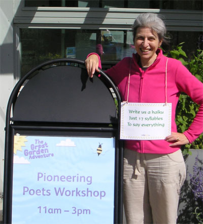 Poetry Workshops at RHS Harlow Carr