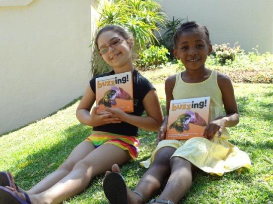 Aaliyah and Zawadi buzzing in South Africa!