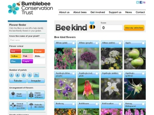 The Bumblebee Conservation Trust's online Bee Kind tool