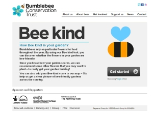 The Bumblebee Conservation Trust's Bee Kind tool