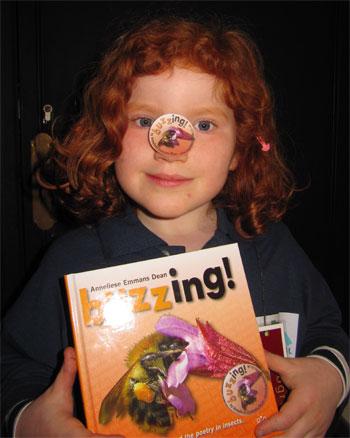 Ruby chooses my book Buzzing!