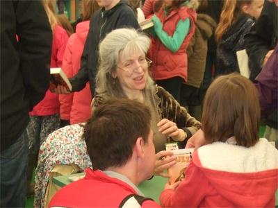 Book signing at Hay