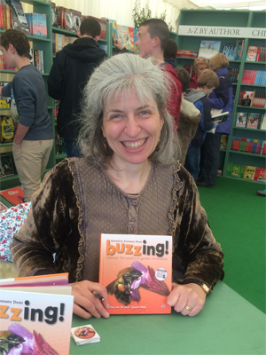 My first glimpse of the new reprint of Buzzing!