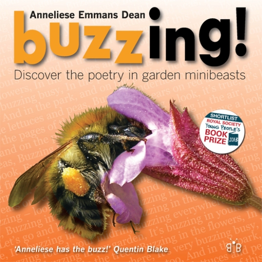 Cover of the new 2014 reprint of Buzzing!