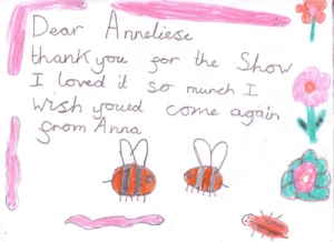 Pupil thank you letter
