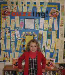 Just some of the entries to the St John's School Buzzing! bookmark competition