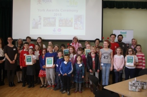 Food For Life Partnership Award winners