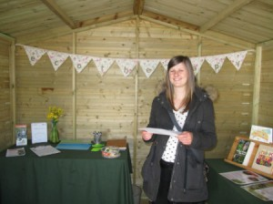 Finding out more inside the St Nicks Ecotherapy Chalet