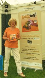 Nicola Loxdale, Director of my publishers Brambleby Books.