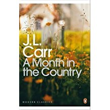 Book cover of J.L.Carr's A Month in the Country