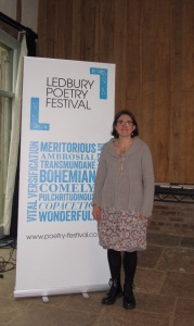 Chloe Garner - Director of the Ledbury Poetry Festival