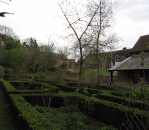 The grounds of Hellens Manor